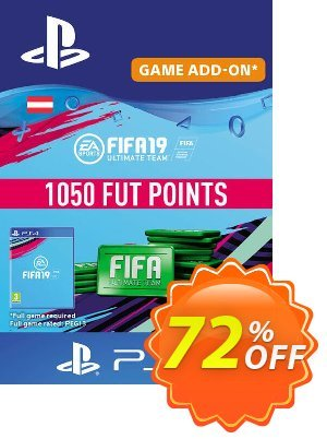 Fifa 19 - 1050 FUT Points PS4 (Austria) 프로모션 코드 Fifa 19 - 1050 FUT Points PS4 (Austria) Deal 프로모션: Fifa 19 - 1050 FUT Points PS4 (Austria) Exclusive Easter Sale offer for iVoicesoft