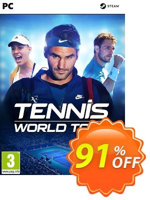 Tennis World Tour PC 프로모션 코드 Tennis World Tour PC Deal 프로모션: Tennis World Tour PC Exclusive offer for iVoicesoft
