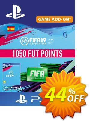 Fifa 19 - 1050 FUT Points PS4 (Spain) discount coupon Fifa 19 - 1050 FUT Points PS4 (Spain) Deal - Fifa 19 - 1050 FUT Points PS4 (Spain) Exclusive Easter Sale offer for iVoicesoft