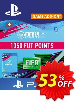 Fifa 19 - 1050 FUT Points PS4 (Switzerland) 優惠券,折扣碼 Fifa 19 - 1050 FUT Points PS4 (Switzerland) Deal,促銷代碼: Fifa 19 - 1050 FUT Points PS4 (Switzerland) Exclusive Easter Sale offer for iVoicesoft