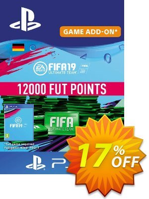 Fifa 19 - 12000 FUT Points PS4 (Germany) 優惠券,折扣碼 Fifa 19 - 12000 FUT Points PS4 (Germany) Deal,促銷代碼: Fifa 19 - 12000 FUT Points PS4 (Germany) Exclusive Easter Sale offer for iVoicesoft