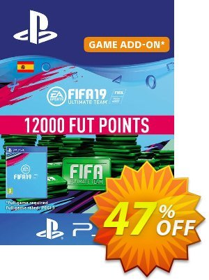 Fifa 19 - 12000 FUT Points PS4 (Spain) discount coupon Fifa 19 - 12000 FUT Points PS4 (Spain) Deal - Fifa 19 - 12000 FUT Points PS4 (Spain) Exclusive Easter Sale offer for iVoicesoft