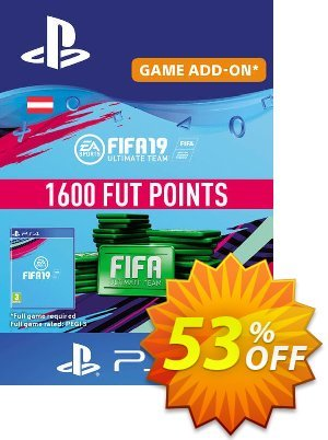 Fifa 19 - 1600 FUT Points PS4 (Austria) discount coupon Fifa 19 - 1600 FUT Points PS4 (Austria) Deal - Fifa 19 - 1600 FUT Points PS4 (Austria) Exclusive Easter Sale offer for iVoicesoft
