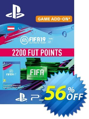 Fifa 19 - 2200 FUT Points PS4 (Austria) discount coupon Fifa 19 - 2200 FUT Points PS4 (Austria) Deal - Fifa 19 - 2200 FUT Points PS4 (Austria) Exclusive Easter Sale offer for iVoicesoft