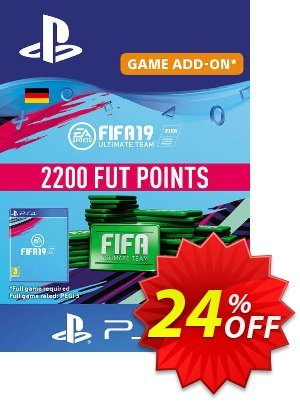 Fifa 19 - 2200 FUT Points PS4 (Germany) discount coupon Fifa 19 - 2200 FUT Points PS4 (Germany) Deal - Fifa 19 - 2200 FUT Points PS4 (Germany) Exclusive Easter Sale offer for iVoicesoft