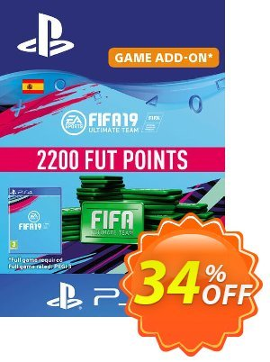 Fifa 19 - 2200 FUT Points PS4 (Spain) 프로모션 코드 Fifa 19 - 2200 FUT Points PS4 (Spain) Deal 프로모션: Fifa 19 - 2200 FUT Points PS4 (Spain) Exclusive Easter Sale offer for iVoicesoft