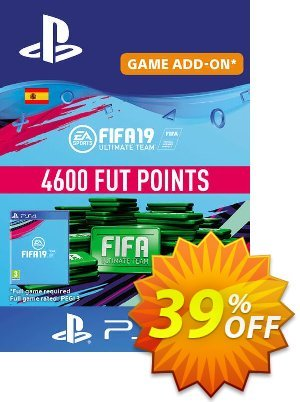 Fifa 19 - 4600 FUT Points PS4 (Spain) 優惠券,折扣碼 Fifa 19 - 4600 FUT Points PS4 (Spain) Deal,促銷代碼: Fifa 19 - 4600 FUT Points PS4 (Spain) Exclusive Easter Sale offer for iVoicesoft