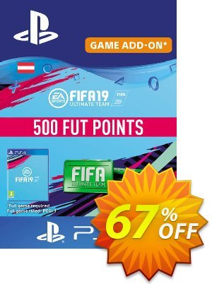 Fifa 19 - 500 FUT Points PS4 (Austria) discount coupon Fifa 19 - 500 FUT Points PS4 (Austria) Deal - Fifa 19 - 500 FUT Points PS4 (Austria) Exclusive Easter Sale offer for iVoicesoft
