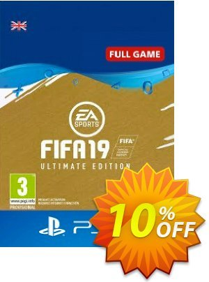 FIFA 19 Ultimate Edition PS4 (UK) discount coupon FIFA 19 Ultimate Edition PS4 (UK) Deal - FIFA 19 Ultimate Edition PS4 (UK) Exclusive Easter Sale offer for iVoicesoft