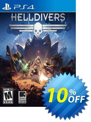 Helldivers PS4 프로모션 코드 Helldivers PS4 Deal 프로모션: Helldivers PS4 Exclusive Easter Sale offer for iVoicesoft