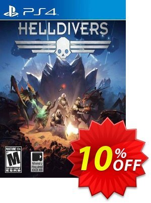 Helldivers PS4 優惠券,折扣碼 Helldivers PS4 Deal,促銷代碼: Helldivers PS4 Exclusive Easter Sale offer for iVoicesoft