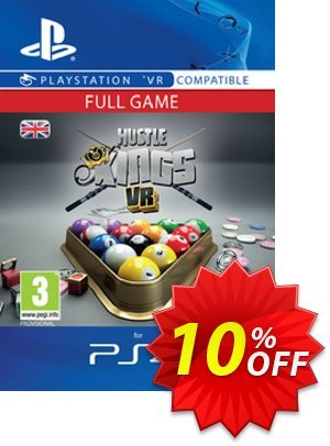 Hustle Kings VR PS4 discount coupon Hustle Kings VR PS4 Deal - Hustle Kings VR PS4 Exclusive Easter Sale offer for iVoicesoft