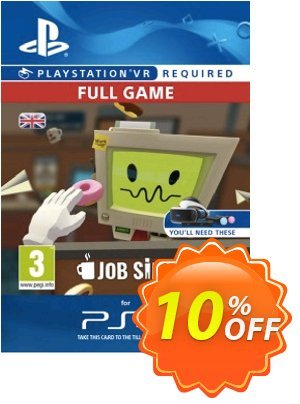 Job Simulator VR PS4 優惠券,折扣碼 Job Simulator VR PS4 Deal,促銷代碼: Job Simulator VR PS4 Exclusive Easter Sale offer for iVoicesoft