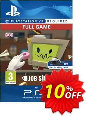 Job Simulator VR PS4 Coupon discount Job Simulator VR PS4 Deal. Promotion: Job Simulator VR PS4 Exclusive Easter Sale offer for iVoicesoft