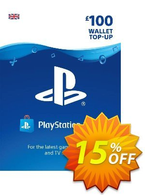Playstation Network (PSN) Card - £100 discount coupon Playstation Network (PSN) Card - £100 Deal - Playstation Network (PSN) Card - £100 Exclusive Easter Sale offer for iVoicesoft
