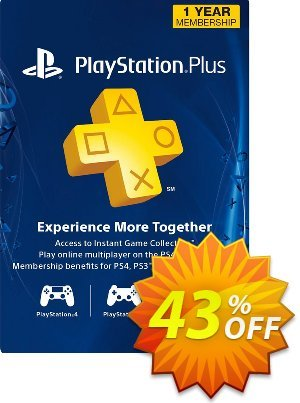 1-Year PlayStation Plus Membership (PS+) - PS3/PS4/PS Vita (Canada) 프로모션 코드 1-Year PlayStation Plus Membership (PS+) - PS3/PS4/PS Vita (Canada) Deal 프로모션: 1-Year PlayStation Plus Membership (PS+) - PS3/PS4/PS Vita (Canada) Exclusive Easter Sale offer for iVoicesoft