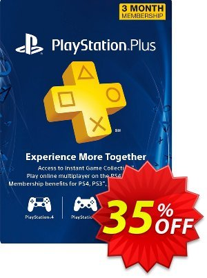 3 Month Playstation Plus Membership (PS+) - PS3/ PS4/ PS Vita Digital Code (Canada) Coupon, discount 3 Month Playstation Plus Membership (PS+) - PS3/ PS4/ PS Vita Digital Code (Canada) Deal. Promotion: 3 Month Playstation Plus Membership (PS+) - PS3/ PS4/ PS Vita Digital Code (Canada) Exclusive Easter Sale offer for iVoicesoft