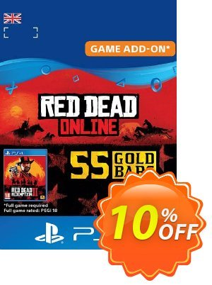 Red Dead Online: 55 Gold Bars PS4 (UK) discount coupon Red Dead Online: 55 Gold Bars PS4 (UK) Deal - Red Dead Online: 55 Gold Bars PS4 (UK) Exclusive Easter Sale offer for iVoicesoft