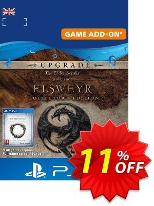 The Elder Scrolls Online: Elsweyr Collectors Edition Upgrade PS4 discount coupon The Elder Scrolls Online: Elsweyr Collectors Edition Upgrade PS4 Deal - The Elder Scrolls Online: Elsweyr Collectors Edition Upgrade PS4 Exclusive Easter Sale offer for iVoicesoft