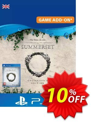 The Elder Scrolls Online: Summerset Collector's Upgrade PS4 (UK) discount coupon The Elder Scrolls Online: Summerset Collector's Upgrade PS4 (UK) Deal - The Elder Scrolls Online: Summerset Collector's Upgrade PS4 (UK) Exclusive Easter Sale offer for iVoicesoft