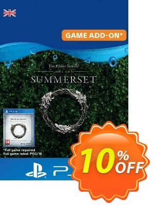 The Elder Scrolls Online: Summerset Upgrade Edition PS4 (UK) discount coupon The Elder Scrolls Online: Summerset Upgrade Edition PS4 (UK) Deal - The Elder Scrolls Online: Summerset Upgrade Edition PS4 (UK) Exclusive Easter Sale offer for iVoicesoft