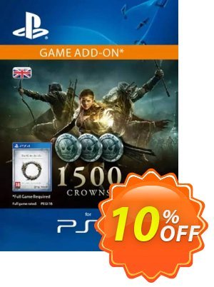 The Elder Scrolls Online: Tamriel Unlimited - 1500 Crowns PS4 (UK) discount coupon The Elder Scrolls Online: Tamriel Unlimited - 1500 Crowns PS4 (UK) Deal - The Elder Scrolls Online: Tamriel Unlimited - 1500 Crowns PS4 (UK) Exclusive Easter Sale offer for iVoicesoft