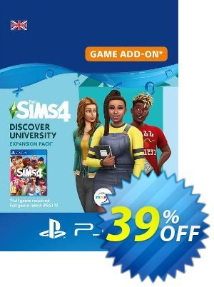 The Sims 4 - Discover University PS4 (UK) 優惠券,折扣碼 The Sims 4 - Discover University PS4 (UK) Deal,促銷代碼: The Sims 4 - Discover University PS4 (UK) Exclusive Easter Sale offer for iVoicesoft
