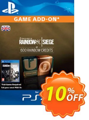 Tom Clancy's Rainbow Six Siege 600 Credits Pack (UK) discount coupon Tom Clancy's Rainbow Six Siege 600 Credits Pack (UK) Deal - Tom Clancy's Rainbow Six Siege 600 Credits Pack (UK) Exclusive Easter Sale offer for iVoicesoft