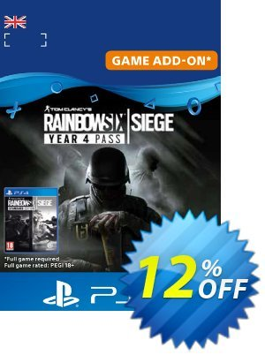 Tom Clancy's Rainbow Six Siege - Year 4 Pass PS4 (UK) discount coupon Tom Clancy's Rainbow Six Siege - Year 4 Pass PS4 (UK) Deal - Tom Clancy's Rainbow Six Siege - Year 4 Pass PS4 (UK) Exclusive Easter Sale offer for iVoicesoft