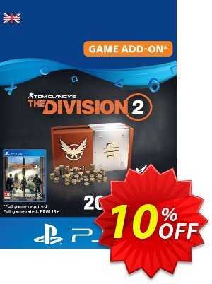 Tom Clancy's The Division 2 PS4 - Welcome Pack discount coupon Tom Clancy's The Division 2 PS4 - Welcome Pack Deal - Tom Clancy's The Division 2 PS4 - Welcome Pack Exclusive Easter Sale offer for iVoicesoft
