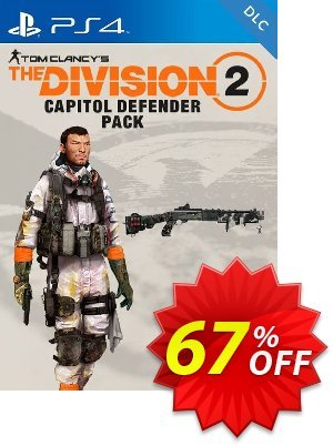 Tom Clancys The Division 2 PS4 - Capitol Defender Pack DLC (EU) discount coupon Tom Clancys The Division 2 PS4 - Capitol Defender Pack DLC (EU) Deal - Tom Clancys The Division 2 PS4 - Capitol Defender Pack DLC (EU) Exclusive Easter Sale offer for iVoicesoft