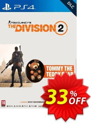 Tom Clancy's The Division 2 PS4 - Tommy the Teddy Bear DLC discount coupon Tom Clancy's The Division 2 PS4 - Tommy the Teddy Bear DLC Deal - Tom Clancy's The Division 2 PS4 - Tommy the Teddy Bear DLC Exclusive Easter Sale offer for iVoicesoft
