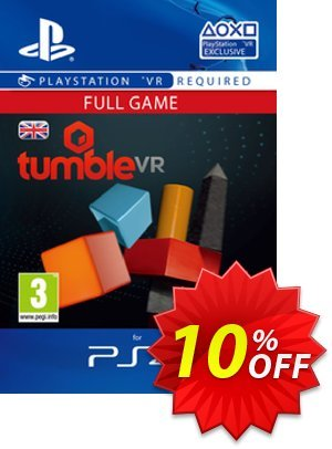 Tumble VR PS4 프로모션 코드 Tumble VR PS4 Deal 프로모션: Tumble VR PS4 Exclusive Easter Sale offer for iVoicesoft