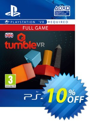 Tumble VR PS4 優惠券,折扣碼 Tumble VR PS4 Deal,促銷代碼: Tumble VR PS4 Exclusive Easter Sale offer for iVoicesoft