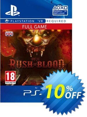 Until Dawn Rush of Blood VR PS4 프로모션 코드 Until Dawn Rush of Blood VR PS4 Deal 프로모션: Until Dawn Rush of Blood VR PS4 Exclusive Easter Sale offer for iVoicesoft