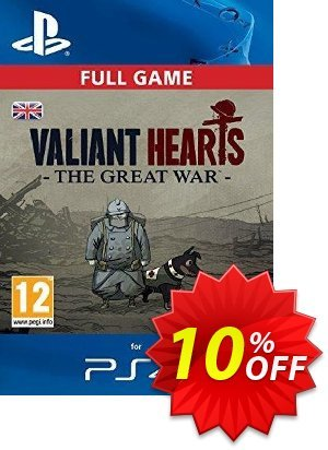 Valiant Hearts: The Great War PS4 - Digital Code 優惠券,折扣碼 Valiant Hearts: The Great War PS4 - Digital Code Deal,促銷代碼: Valiant Hearts: The Great War PS4 - Digital Code Exclusive Easter Sale offer for iVoicesoft