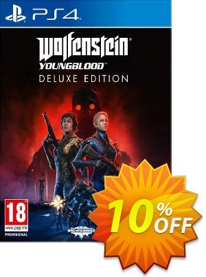 Wolfenstein: Youngblood Deluxe Edition PS4 (EU) discount coupon Wolfenstein: Youngblood Deluxe Edition PS4 (EU) Deal - Wolfenstein: Youngblood Deluxe Edition PS4 (EU) Exclusive Easter Sale offer for iVoicesoft