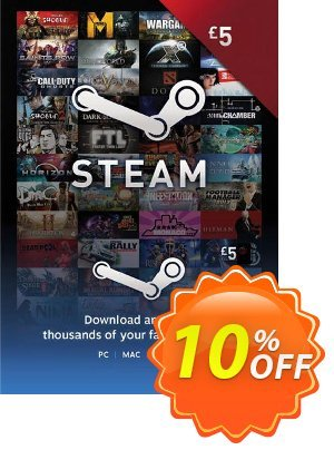 Steam Wallet Top-up 5 EUR 프로모션 코드 Steam Wallet Top-up 5 EUR Deal 프로모션: Steam Wallet Top-up 5 EUR Exclusive Easter Sale offer for iVoicesoft