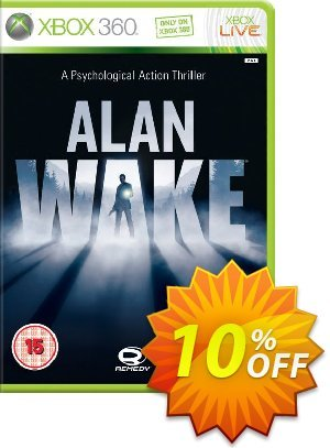 Alan Wake Xbox 360 - Digital Code discount coupon Alan Wake Xbox 360 - Digital Code Deal - Alan Wake Xbox 360 - Digital Code Exclusive Easter Sale offer for iVoicesoft