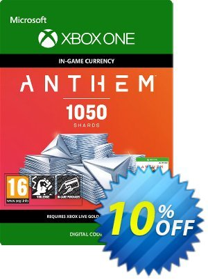 Anthem 1050 Shards Pack Xbox One discount coupon Anthem 1050 Shards Pack Xbox One Deal - Anthem 1050 Shards Pack Xbox One Exclusive Easter Sale offer for iVoicesoft