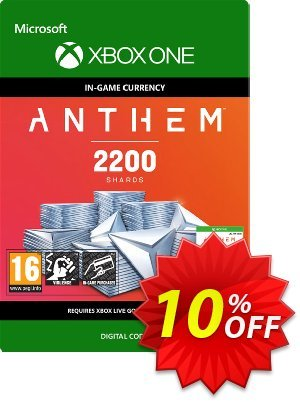 Anthem 2200 Shards Pack Xbox One discount coupon Anthem 2200 Shards Pack Xbox One Deal - Anthem 2200 Shards Pack Xbox One Exclusive Easter Sale offer for iVoicesoft