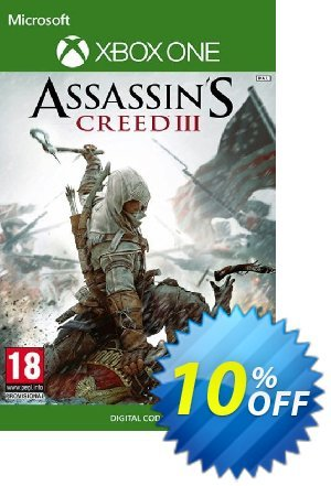 Assassin's Creed 3 Xbox One discount coupon Assassin's Creed 3 Xbox One Deal - Assassin's Creed 3 Xbox One Exclusive Easter Sale offer for iVoicesoft