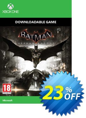 Batman: Arkham Knight Xbox One - Digital Code discount coupon Batman: Arkham Knight Xbox One - Digital Code Deal - Batman: Arkham Knight Xbox One - Digital Code Exclusive Easter Sale offer for iVoicesoft