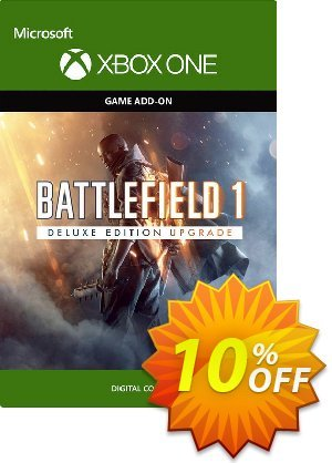 Battlefield 1 Deluxe Edition UPGRADE Xbox One discount coupon Battlefield 1 Deluxe Edition UPGRADE Xbox One Deal - Battlefield 1 Deluxe Edition UPGRADE Xbox One Exclusive Easter Sale offer for iVoicesoft
