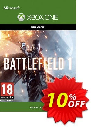 Battlefield 1 Xbox One 優惠券,折扣碼 Battlefield 1 Xbox One Deal,促銷代碼: Battlefield 1 Xbox One Exclusive Easter Sale offer for iVoicesoft