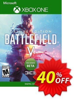 Battlefield V 5 Deluxe Edition Xbox One + BETA discount coupon Battlefield V 5 Deluxe Edition Xbox One + BETA Deal - Battlefield V 5 Deluxe Edition Xbox One + BETA Exclusive Easter Sale offer for iVoicesoft
