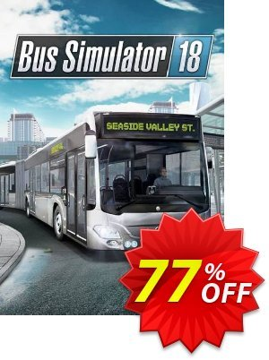 Bus Simulator 18 PC 優惠券,折扣碼 Bus Simulator 18 PC Deal,促銷代碼: Bus Simulator 18 PC Exclusive Easter Sale offer for iVoicesoft