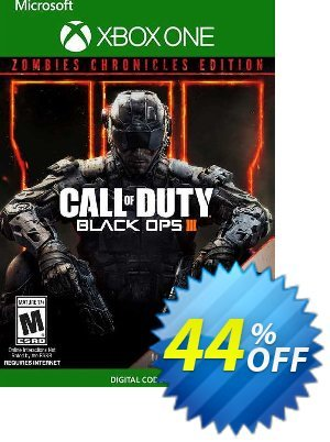 Call of Duty: Black Ops III - Zombies Chronicles Edition Xbox One (UK) discount coupon Call of Duty: Black Ops III - Zombies Chronicles Edition Xbox One (UK) Deal - Call of Duty: Black Ops III - Zombies Chronicles Edition Xbox One (UK) Exclusive Easter Sale offer for iVoicesoft