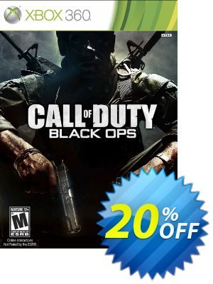 Call of Duty (COD) Black Ops Xbox 360 Coupon discount Call of Duty (COD) Black Ops Xbox 360 Deal. Promotion: Call of Duty (COD) Black Ops Xbox 360 Exclusive Easter Sale offer for iVoicesoft