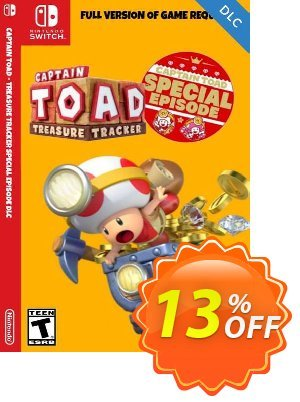 Captain Toad Treasure Tracker - Special Episode Switch DLC 프로모션 코드 Captain Toad Treasure Tracker - Special Episode Switch DLC Deal 프로모션: Captain Toad Treasure Tracker - Special Episode Switch DLC Exclusive Easter Sale offer for iVoicesoft